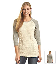 Ruff Hewn Sweater Front Pullover