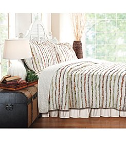Greenland Home® Bella Ruffle 3-pc. Quilt Set