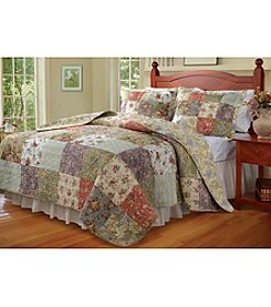 Greenland Home® Blooming Prairie 3-pc. Quilt Set