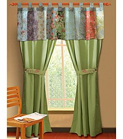 Greenland Home® Blooming Prairie Window Treatment