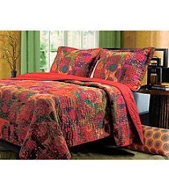 Greenland Home® Jewel 3-pc. Quilt Set