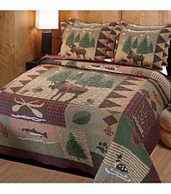 Greenland Home® Moose Lodge 3-pc. Quilt Set