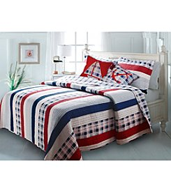 Greenland Home® Nautical Stripe 5-pc. Bonus Quilt Set