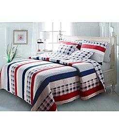 Greenland Home® Nautical Stripe 3-pc. Quilt Set
