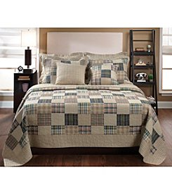 Greenland Home® Oxford 3-pc. Quilt Set