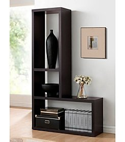 Baxton Studios Rupal Brown Modern Display Shelf