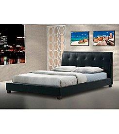 Baxton Studios Hauten Black Modern Bed