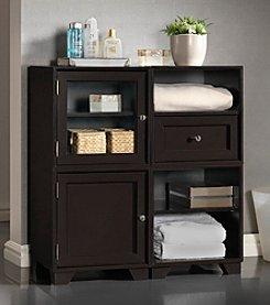 Baxton Studios Alaska Dark Brown Modular Storage Cabinet