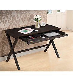Baxton Studios Tulsa Dark Brown Modern Desk