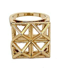 Triangle Fashion Ring