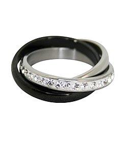 Three Interlocking Rolling Rings