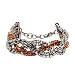 Rose Goldtone Stainless Steel Bracelet