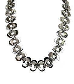 Polish Oval Link Stainless Steel Necklace