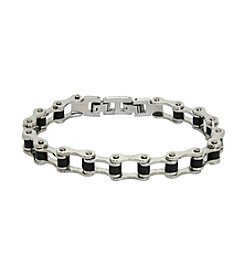 Men's Stainless Steel Bike Chain Link Bracelet