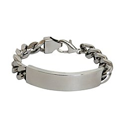 Men's Stainless Steel ID Bracelet