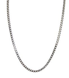 Men's Stainless Steel Box Chain
