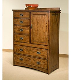 Intercon Oak Park Chest with Door