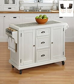 Home Styles® Nantucket Distressed Kitchen Cart