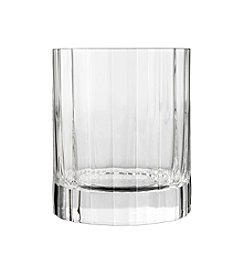 Luigi Bormioli Bach Set of 4 Double Old Fashioned Glasses