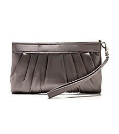 La Regale® Satin Top Zip Wristlet