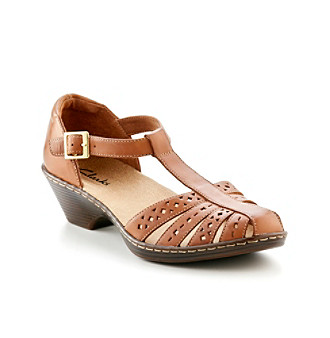 """Clarks® """"Wendy Valley"""" Casual Cut Out Sandals"""