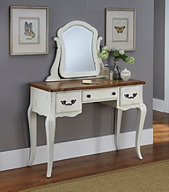 Home Styles® French Countryside Oak Vanity and Mirror