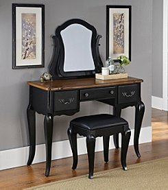 Home Styles® French Countryside Vanity and Bench