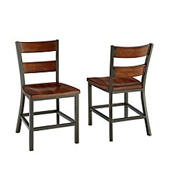 Home Styles® Set of 2 Cabin Creek Dining Chairs