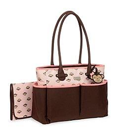 Carter's® Pink Monkey Tote Diaper Bag