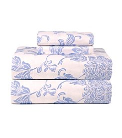 Celeste Home Ultra Soft Flannel Corsage Sheet Set