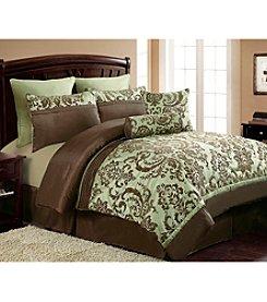 Victoria Classics Daniela 8-pc. Flocked Comforter Set