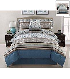 Victoria Classics Delancey 10-pc. Reversible Comforter Set