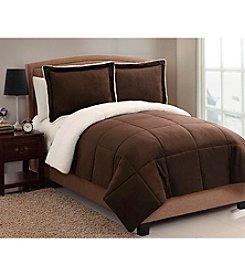 Victoria Classics Micro Mink Sherpa 2-pc. Comforter Set