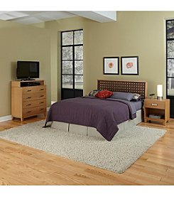 Home Styles® Rave Full/Queen Headboard Bedroom Collection with Media Chest