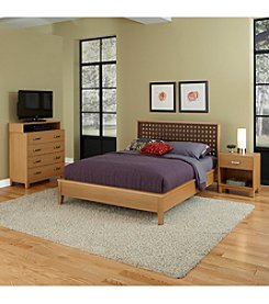 Home Styles® Rave King Bedroom Collection with Media Chest