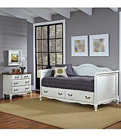 Home Styles® French Countryside Rubbed White Daybed Collection