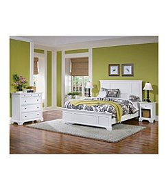 Home Styles® Naples White King Bedroom Collection