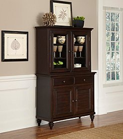 Home Styles® Bermuda Espresso Buffet and Hutch Collection
