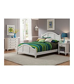 Home Styles® Bermuda Brushed White King Bedroom Collection
