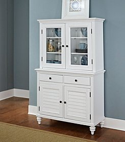 Home Styles® Bermuda Brushed White Buffet and Hutch Collection