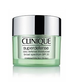 Clinique Superdefense Daily Defense Moisturizer Broad Spectrum SPF 20 Skin Types 3 & 4