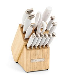 KitchenAid® 14-pc. Frosted Pearl Cutlery Set