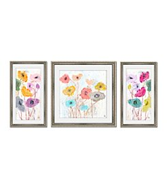 Greenleaf Art Flowers Framed Canvas Art