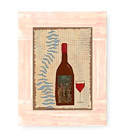 Greenleaf Art Wine I Framed Art Plaque