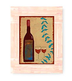 Greenleaf Art Wine II Framed Art Plaque