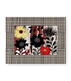 Greenleaf Art Abstract Flowers II Framed Art Plaque