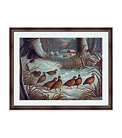 Greenleaf Art Time to Forage Framed Canvas Art