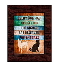 Greenleaf Art Dogs & Cats Art Plaque