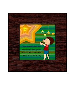 Greenleaf Art Little Star Art Plaque