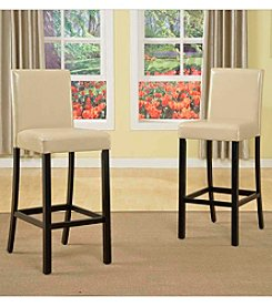 Baxton Studios Torino Set of 4 Modern Bar Stools